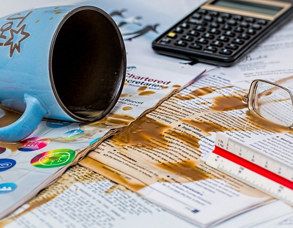 grootste administratieve fouten